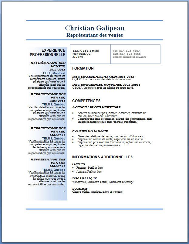 resume format  modele de cv gratuit romania