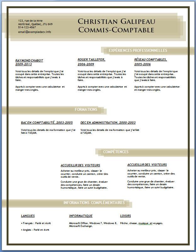 resume format  lettre relance cv