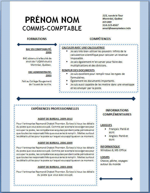 cv scientifique exemple modeles cv   Melo.in tandem.co cv scientifique exemple