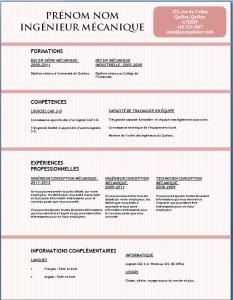 Exemple et modèle gratuit de CV #131