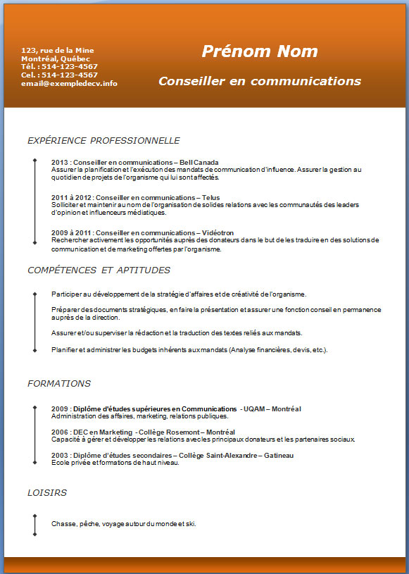 application letter sample  modele de lettre de motivation quebecois