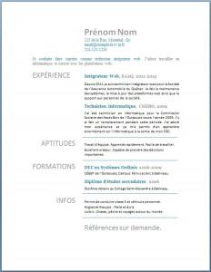 Exemple de CV #204
