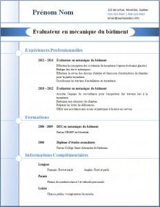 Exemple de CV #268