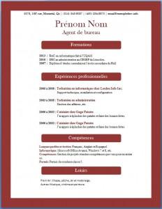 Exemple de CV #368