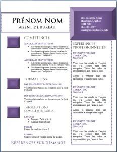 Exemple de CV #511