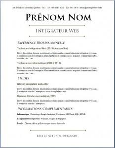 Exemple de CV #643