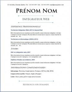 Exemple de CV #644