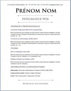 Exemple de CV #646
