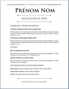 Exemple de CV #648