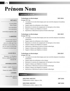 Index of wp contentuploads201409 modele de cv word 88 yelopaper Image collections