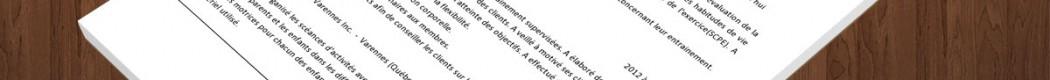 curriculum vitae d u2019un kin u00e9siologue  u00bb exemple de cv  info