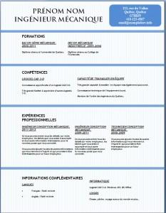 Exemple et modèle gratuit de CV #128