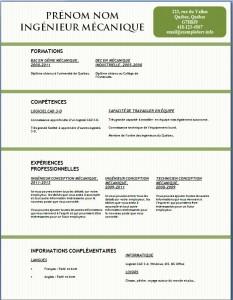 Exemple et modèle gratuit de CV #132