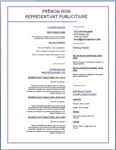 Exemple de CV #140