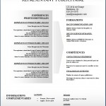 Modèle et exemple de CV #150