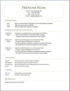 Exemple de CV #419