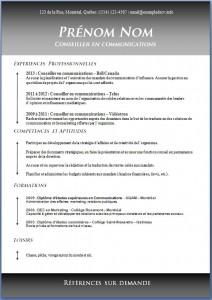 Exemple de CV #423