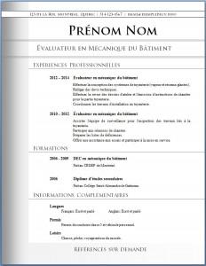 Exemple de CV #474