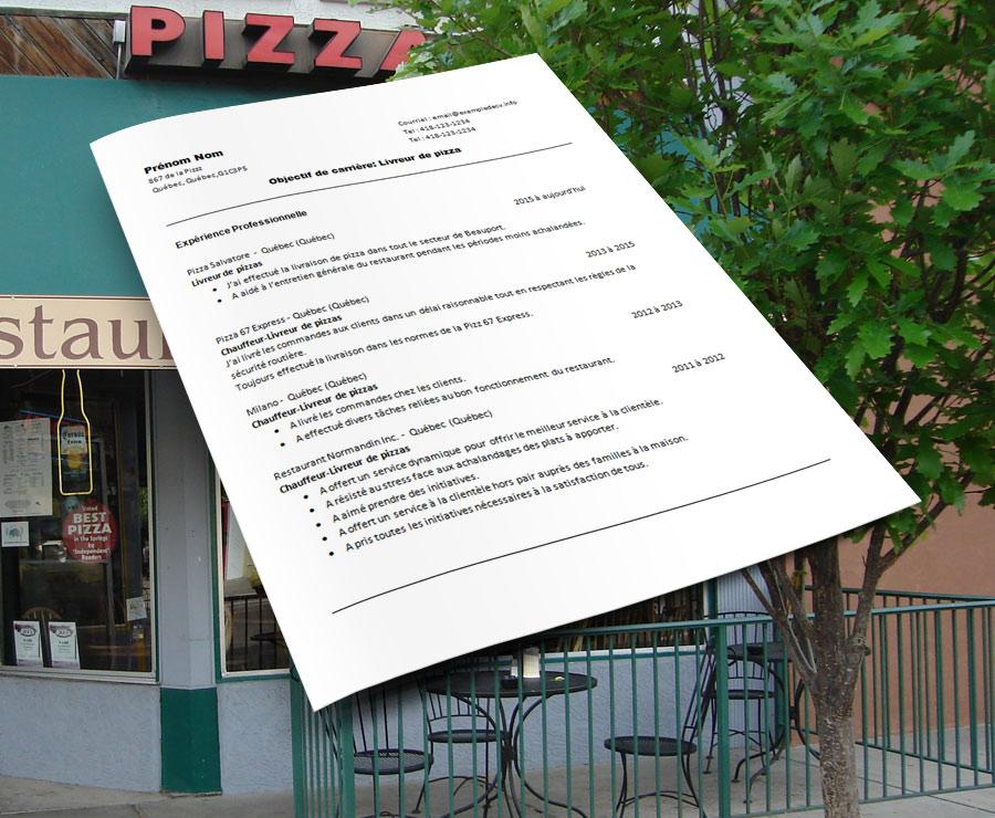 curriculu_vitae_livreuse_livreur_de_pizza_page1_restaurant
